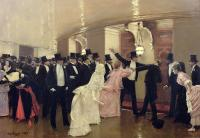 an-argument-in-the-corridors-of-the-opera-jean-beraud