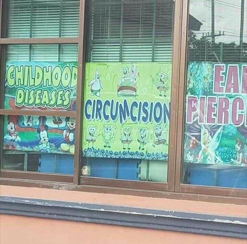 sponge bob circumcision